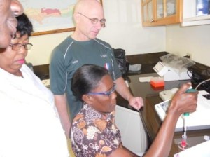Haiti National Lab Pipetting Training