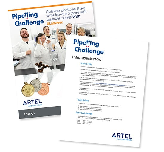 Artel Pipetting Challenge
