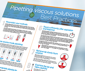 Pipetting Viscous Solutions Poster