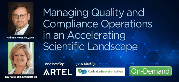 Managing Quality and Compliance Operations in an Accelerating Scientific Landscape